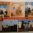 Postales: POSTAL VINAROS-ERMITA S.SEBASTIAN. Lote 160542154