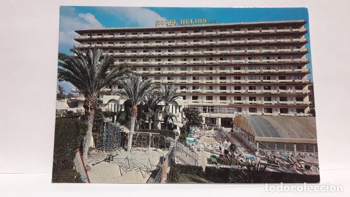 POSTAL HOTEL HELIOS BENIDORM, HNOS. GALIANA. SIN USO. (Postales - España - Comunidad Valenciana Moderna (desde 1940))