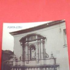Postales: MONASTERIO DE PORTA-COELI (VALENCIA) POSTAL FOTOGRAFICA. Lote 160681318