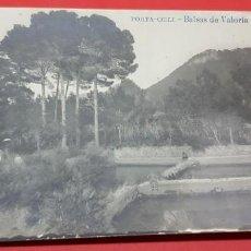 Postales: PORTA-COELI. BALSAS DE VALORIA. POSTAL FOTOGRÁFICA. Lote 160681614