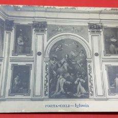Postales: MONASTERIO DE PORTA COELI. RETABLO DE LA IGLESIA.. Lote 160681834
