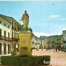 Cartes Postales: FUENTE LA HIGUERA - PLAZA DEL CAUDILLO - MONUMENTO AL PINTOR JUAN DE JUANES. Lote 162592958