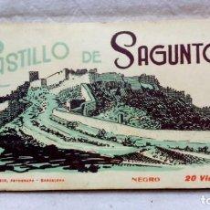 Postales: ÁLBUM FOTOGRÁFICO - POSTALES, CASTILLO DE SAGUNTO. 20 VISTAS, FOTÓGRAFO L. ROISIN. VER . Lote 162689626