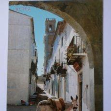 Postales: CALLE MAYOR ALTEA (ALICANTE). Lote 163449426