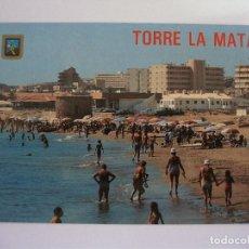 Postales: POSTAL DE TORRE LA MATA (ALICANTE) - 5 - LA MATA (CASANOVAS). Lote 163514110