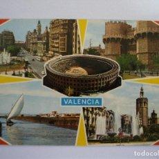 Postales: POSTAL DE VALENCIA - 132 - BELLEZAS DE LA CIUDAD, ESCRITA 1969. Lote 163514226