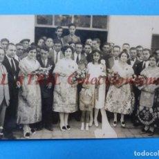 Postales: VALENCIA - VISTA FALLERAS, POSTAL FOTOGRAFICA. Lote 163763982
