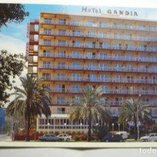 Postales: POSTAL GANDIA .HOTEL GANDIA. Lote 163788830