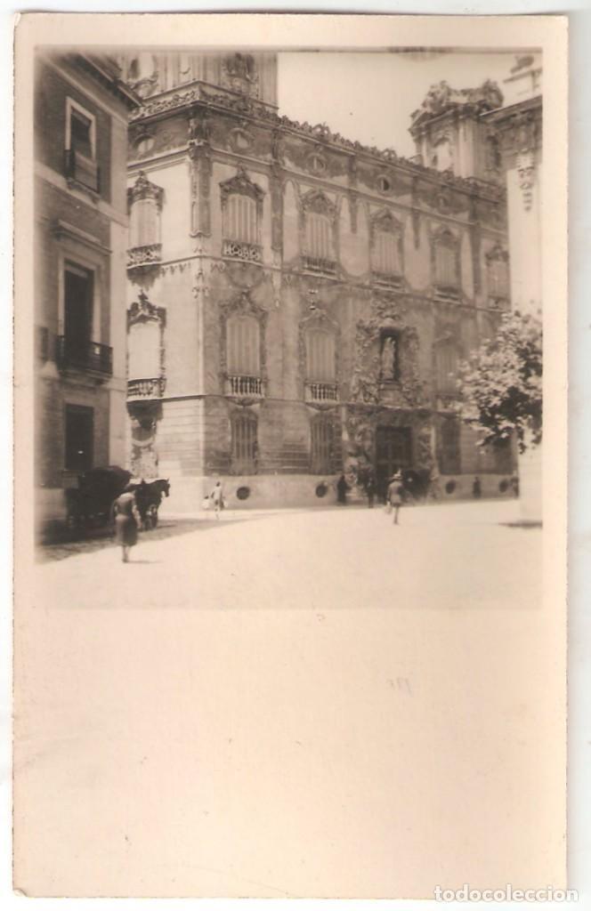 VALENCIA. PALACIO MARQUÉS DE DOS AGUAS. MARZO 1928 - FECHA DETRÁS, SIN ESCRIBIR. - VELL I BELL (Postales - España - Comunidad Valenciana Antigua (hasta 1939))