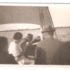 Postales: VALENCIA. ALBUFERA. FOTOGRAFICA. MARZO 1928 - FECHA DETRÁS, SIN ESCRIBIR. - VELL I BELL. Lote 165259946