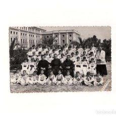 Postales: MISLATA.(VALENCIA).- ALUMNOS DE 5º. 1957. Lote 165379746
