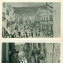 Postales: CASTELLÓN. CHERT. LOTE DE DOS POSTALES. TOROS Y ENCIERRO. HACIA 1940.. Lote 165400562