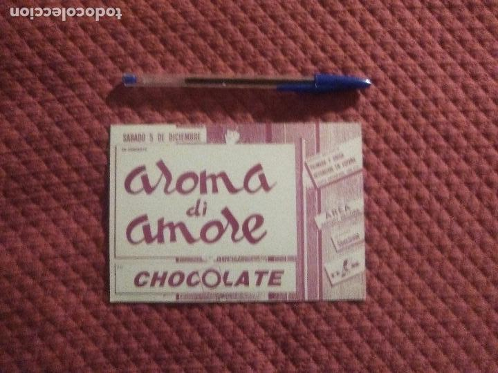 Postales: POSTAL DISCOTECA CHOCOLATE Ruta Valencia Años 80 Aroma di Amore - Foto 3 - 165407986