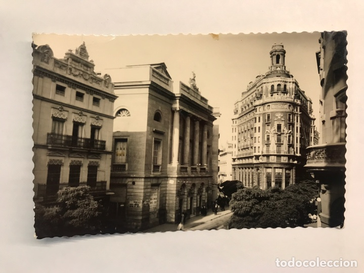 VALENCIA. POSTAL FOTOGRÁFICA NO.88,TEATRO PRINCIPAL. EDITA: ED. DARVI (H.1950?) ESCRITA (Postales - España - Comunidad Valenciana Moderna (desde 1940))