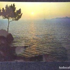 Postales: ALICANTE-V47-CIRCULADA-PUESTA DE SOL. Lote 165702098