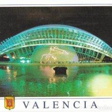 Postales: == A1765 - POSTAL - VALENCIA - CIUDAD DE LAS ARTES Y LAS CIENCIAS - L´HEMISFERICO - Nº 1583. Lote 165750250