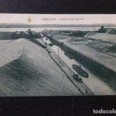 Postales: TORREVIEJA ALICANTE SALINAS VISTA GENERAL. Lote 165758798