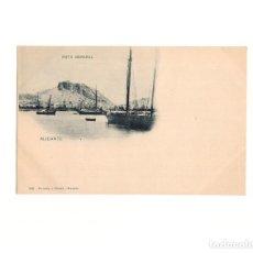 Postales: ALICANTE.- VISTA GENERAL. HAUSER Y MENET.. Lote 165836066