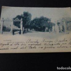 Postales: ALICANTE PASEO DE CAMPOAMOR. Lote 165990218