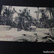 Postales: ELCHE ALICANTE CAMINO DE LOS MOLINOS CANDALICIOS. Lote 165990878
