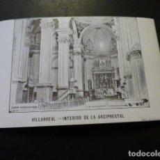 Postales: VILLARREAL CASTELLON INTERIOR DE LA ARCIPRESTAL IMP. BOTELLA. Lote 166011306