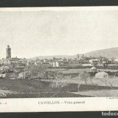 Postales: CASTELLON-VISTA GENERAL-F.SEGARRA-POSTAL ANTIGUA-(59.727). Lote 166450466