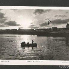 Postales: ALICANTE-PUERTO-118-FOTOGRAFICA ROISIN-POSTAL ANTIGUA-(59.732). Lote 166450998