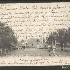 Postales: ALICANTE-AVENIDA DEL DR GADEA-PZ 10065-REVERSO SIN DIVIDIR-POSTAL ANTIGUA-(59.733). Lote 166451082