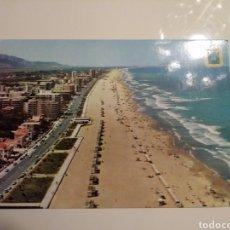 Postales: GANDIA.PLAYA.VISTA AREA.CASANOVAS.CICULADA.. Lote 166465057