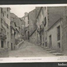Postales: ALCOY-TIPICA CALLE DE SAN ROQUE-8-ROISIN-FOTOGRAFICA-POSTAL ANTIGUA-(59.773). Lote 166547330