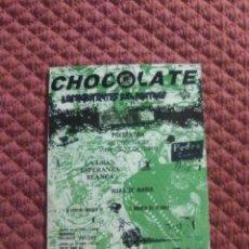 Postcards - POSTAL DISCOTECA CHOCOLATE Los Habitantes del Pantano - 166578626