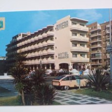 Postales: GANDIA: HOTEL RIVIERA.ED:SUBIRATS CASANOVAS. Lote 166800794