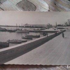 Postales: POSTAL BENICARLO, VISTA PARCIAL DEL PUERTO. Lote 167466092