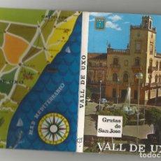 Postales: BLOCK DE 10 POSTALES DE LA VALL DE UXO GRUTAS DE SAN JOSE- EDITADAS POR COMAS ALDEA. Lote 168146716