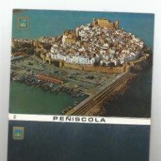 Postales: BLOC DE 10 POSTALES FOTOGRAFICAS EN ACORDEON -PEÑISCOLA-CASTELLON-ED COMAS ALDEA-VER RELACION. Lote 168147360