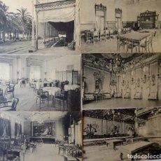Postcards - ALICANTE. EL CASINO. LA TERRAZA. INTERIORES. 6 POSTALES. SIN CIRCULAR. FOTOTIPIA THOMAS. BARCELONA - 168213508