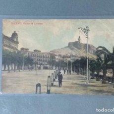 Postales: POSTAL ALICANTE . PARQUE DE CANALEJAS. Lote 168968448