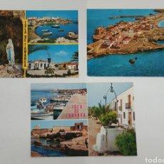 Postales: 3 POSTALES DE LA ISLA DE TABARCA. Lote 169081498