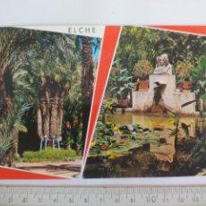 Postales: 36 ELCHE, HUERTO DEL CURA, PALMERA IMPERIAL. GARRABELLA. POSTAL POSTCARD. Lote 169091680