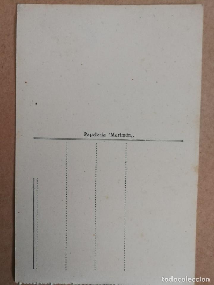 Postales: Antigua postal de alicante. Salón moderno y Alfonso el sabio. - Foto 2 - 169175092