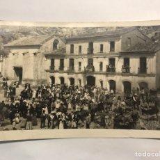 Postales: CHELVA (VALENCIA) POSTAL FOTOGRAFÍCA NO.69, ERMITORIO DEL REMEDIO EN EL DÍA DE SU FIESTA (A.1944). Lote 169176066