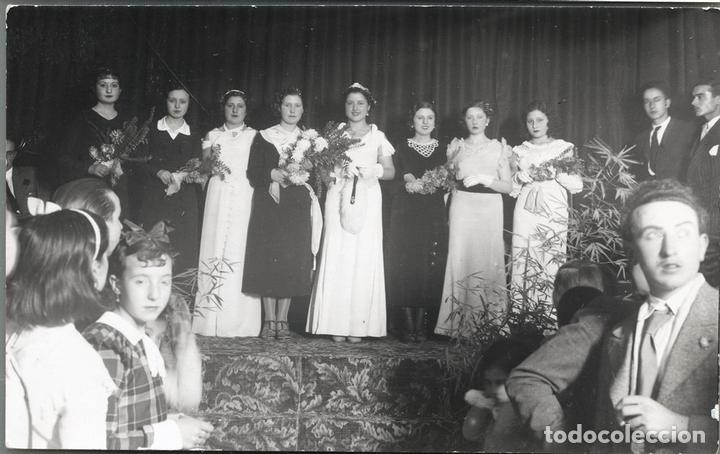 ALCOY MIS MODISTAS REPUBLICANAS 2 FOTOGRAFIAS (Postales - España - Comunidad Valenciana Antigua (hasta 1939))