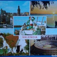Postales: POSTAL 175 VALENCIA VARIAS VISTAS ED ARRIBAS. Lote 169706153