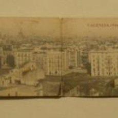 Postales: VALENCIA VISTA PANORAMICA (4 IMAGENES) CIRCULADA AÑO 1918. FOTO R. PALOMARES FOTOTIPIA DE MADRID. Lote 171369009
