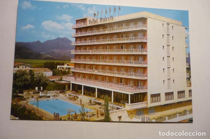 POSTAL GANDIA - HOTEL MADRID CICULADA (Postales - España - Comunidad Valenciana Moderna (desde 1940))