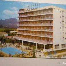 Postales: POSTAL GANDIA - HOTEL MADRID CICULADA. Lote 171372884