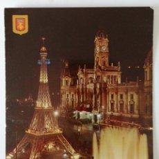 Postales: FALLA DE LA PAZA DEL CAUDILLO AÑO 1966. Lote 171373010