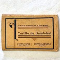Postales: 20 POSTALES CASTILLO DE GUADALEST ROISIN ALBUM COMPLETO BLOC TIPO ACORDEON ALICANTE VALENCIA POSTAL. Lote 171382632