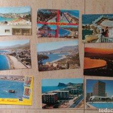 Postales: LOTE DE 9 POSTALES DE BENIDORM. Lote 171463460