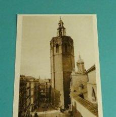 Postales: POSTAL REPRODUCCIÓN ACTUAL. TORRE DEL MIGUELETE. VALENCIA 1920. Lote 171639235